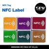 FM1108 impermeável ISO14443A 13.56MHz NFC Paper Sticker
