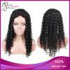 Курчавый парик фронта шнурка волос 4*4 Silk верхний индийский Remy