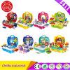 Brinquedos da inteligência da casa do jogo da simulação das crianças