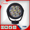 6  Offroadのための70W Round LED Work Light