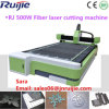 1300mm 2500mm fibra de acero Máquina de corte láser con alta precisión de alta velocidad