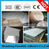 Colle blanche de qualité d'offre d'usine pour papier d'aluminium de film de PVC de panneau de gypse/stratifié
