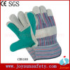 Double Palm Industrial Safety Gloves Leather Gloves (CB5180)
