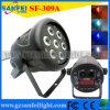 싼 Aluminum 7PCS 10W LED Mini PAR Can