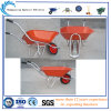 Wheelbarrow Wb6220 da bandeja do metal 65L para o mercado de Malaysia