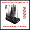 La emisión más nueva del teléfono móvil/emisión de la señal de WiFi Jammer/GPS Jammer/4G