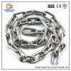 Catena di sollevamento standard dell'acciaio inossidabile di Ss304 DIN766/catena a maglia