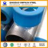 Tubo de acero galvanizado sumergido caliente, roscado y juntado, CRNA ASTM A53 (GI-LIU-61)