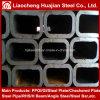 Tubo hueco rectangular del acero de la sección del material de construcción