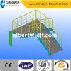 Modèle facile élevé économique d'escalier/escalier de structure métallique de construction de Qualtity