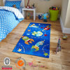 Alfombra de acrílico respetuosa del medio ambiente de la alfombra copetuda de los cabritos de la mano de la alta calidad