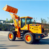 China-kleine Ladevorrichtung 2 Tonnen-Minirad-Ladevorrichtung für Verkauf