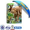 개인화된 3D Lenticular Cover Promotional Memo Pads Notepads