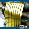 SPCC T4 Temper 5.6/5.6 Golden Tinplate Strip com Food Grade