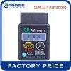 Kenmerkende Hulpmiddel van de Auto van de fabriek het Directe OBD Hh Elm327 Bluetooth Vrije Verschepende Elm327super MiniElm327 Hhobd Bluetooth OBD2 V2.1 Zwarte Slimme