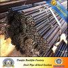 Pipe en acier ronde recuite noire de meubles de pipe en acier d'ASTM A36