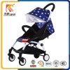 Pram de pouco peso Foldable do bebê do frame da liga de alumínio de modelo 2016 novo com plutônio Wheeles