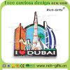 3DデザインBuri Khalifa冷却装置磁石が付いている記念品はカスタマイズした昇進のギフトドバイ(RC-DI)を