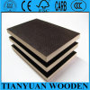 Maak 12mm 15mm 18mm Film Coated Plywood, Formply Plywood waterdicht
