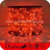 LED-Weihnachtsdekorative Zeichenkette beleuchtet rote Farbe