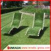 Tapete artificial plástico confortável de venda quente da grama do relvado do PVC
