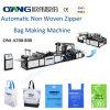 Saco de compra não tecido automático que faz a máquina