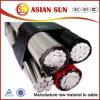 PVC에 의하여 격리되는 전기선 송전 ABC 케이블