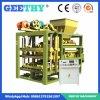 Qtj4-25b petits font la machine de fabrication de brique de cavité de la colle de machines d'argent