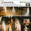 Facile installer le Portable romantique de mariage allument LED Dance Floor