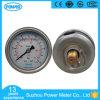 Stab des 63mm Glyzerin-flüssiger Druckanzeiger-10 und P/in
