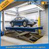El CE certificó la mini elevación del coche hidráulico