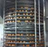 Edelstahl-Brot-Hamburger-Toast-gewundener Kühlturm