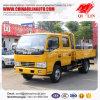 Dongfeng 4 Ton van de Vrachtwagen van de Staak met Dubbele Rij 5 de Cabine van Passagiers