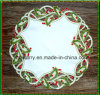 Doily St1765 do Natal do bordado