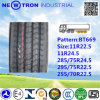 Chinesisches Bt669 285/75r24.5 Radial Truck Tyre mit ECE