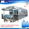 Agua de botella de 3 galones que hace la máquina