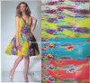 Ткань печатание/ткань платья вечера (F016224)