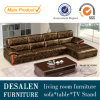 رفاهية حديث جلد أريكة لأنّ يعيش غرفة أثاث لازم (9205)