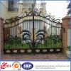 Cancello decorativo del ferro saldato della strada privata del ferro saldato