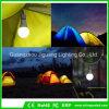 携帯用LEDのランタンのテント軽いハイキング夜照明の屋外の緊急の球根9Wキャンプランプ