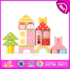 2014 blocos de apartamentos de madeira Toy para Kids, Creative \ Building Toy Oblocks para Children, blocos de apartamentos de Hot Sale para Baby W13A056
