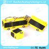 Kundenspezifisches Keychain Schulbus USB-Laufwerk für Kursteilnehmer-Geschenk (ZYF1008)