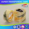 La alta adherencia BOPP estupendo borra la cinta adhesiva cristalina