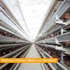 Tipo jaula del edificio agrícola H de pollo de la estructura de acero de las aves de corral de batería