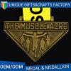 多彩な締縄が付いている高品質の金属のスポーツメダル