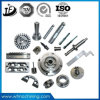 Stahl/Aluminium/kupferner Messingausschnitt und drehenmaschinerie maschinell bearbeitete Teile mit CNC Bearbeitung-Mitte