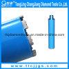 Паяемый сваренный бит диаманта Drilling для бетона армированного Drilling