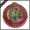 3D Marathon Zinc Alloy Medallion voor Awards (byh-10180)