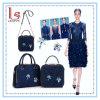 Handtas van de Schouder van het Meisje van de Manier van de mode de Nieuwe Enige Zak van de Partij van het Kristal van Dame Slope Removable Chain Women Zak de Vrouwelijke Kleine Blauwe