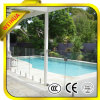 Lt 8mm Competitive Price를 가진 10mm 12mm Clear Frameless Tempered Glass Pool Fence